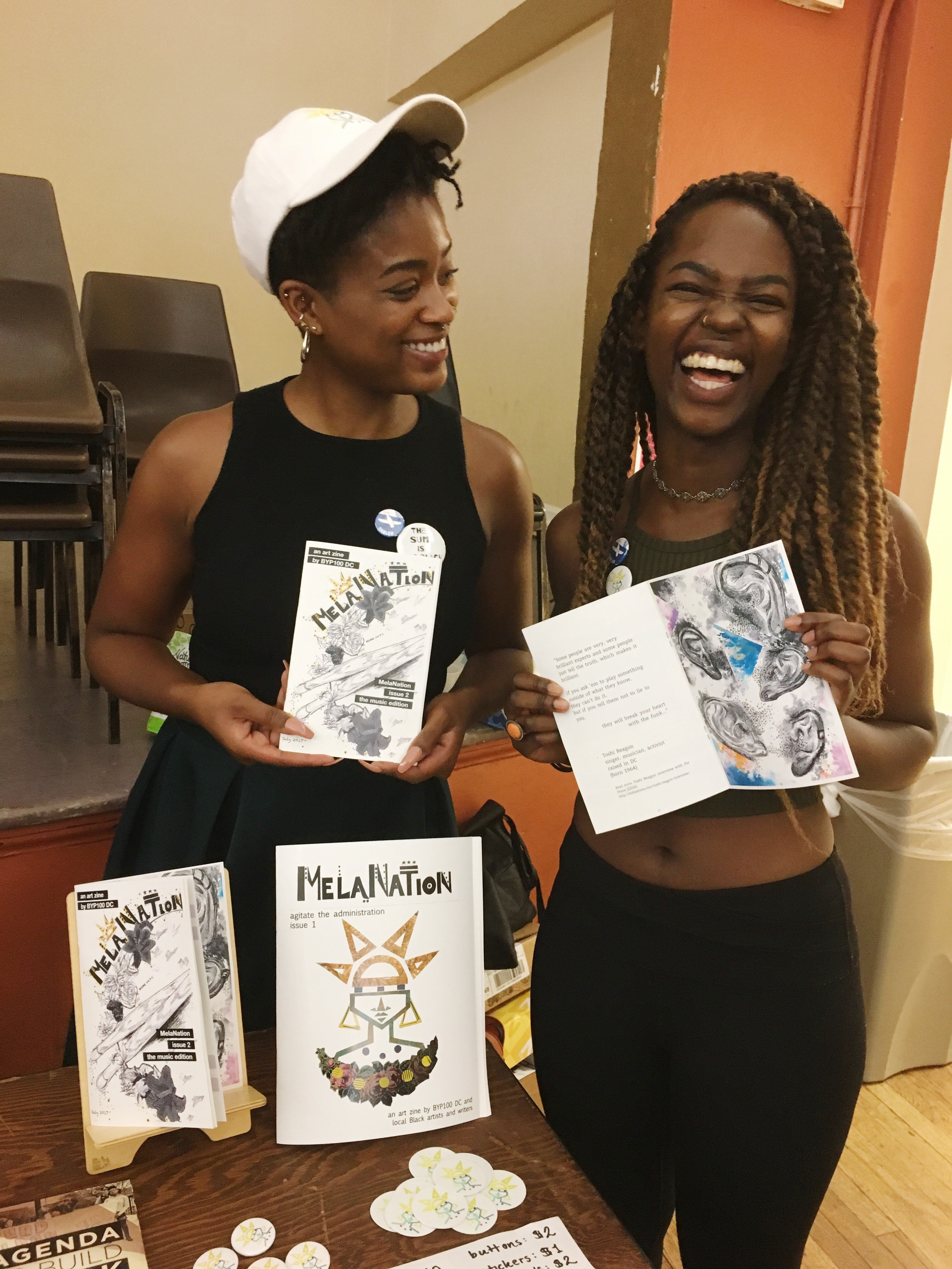 MelaNation at Zinefest 2017